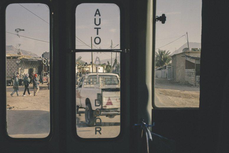 jordan bus door