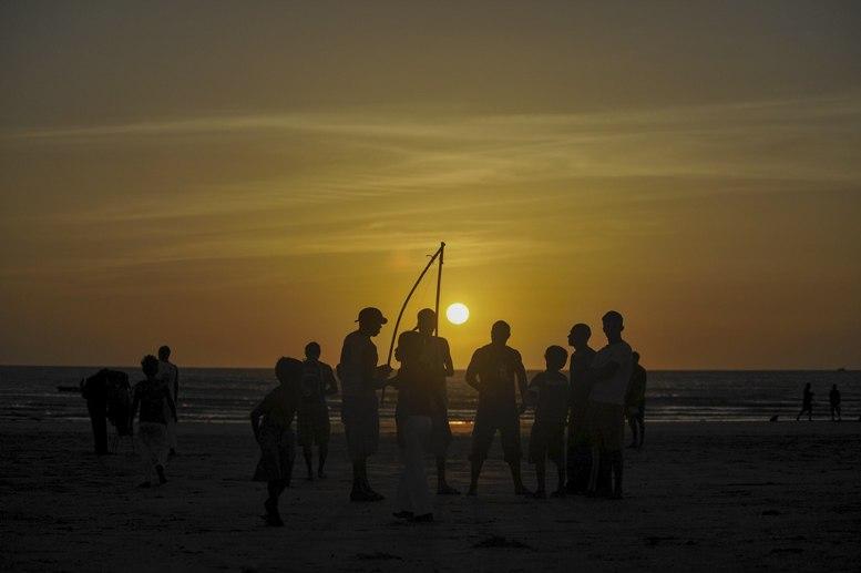jericoacoara-capoeira-Sunset