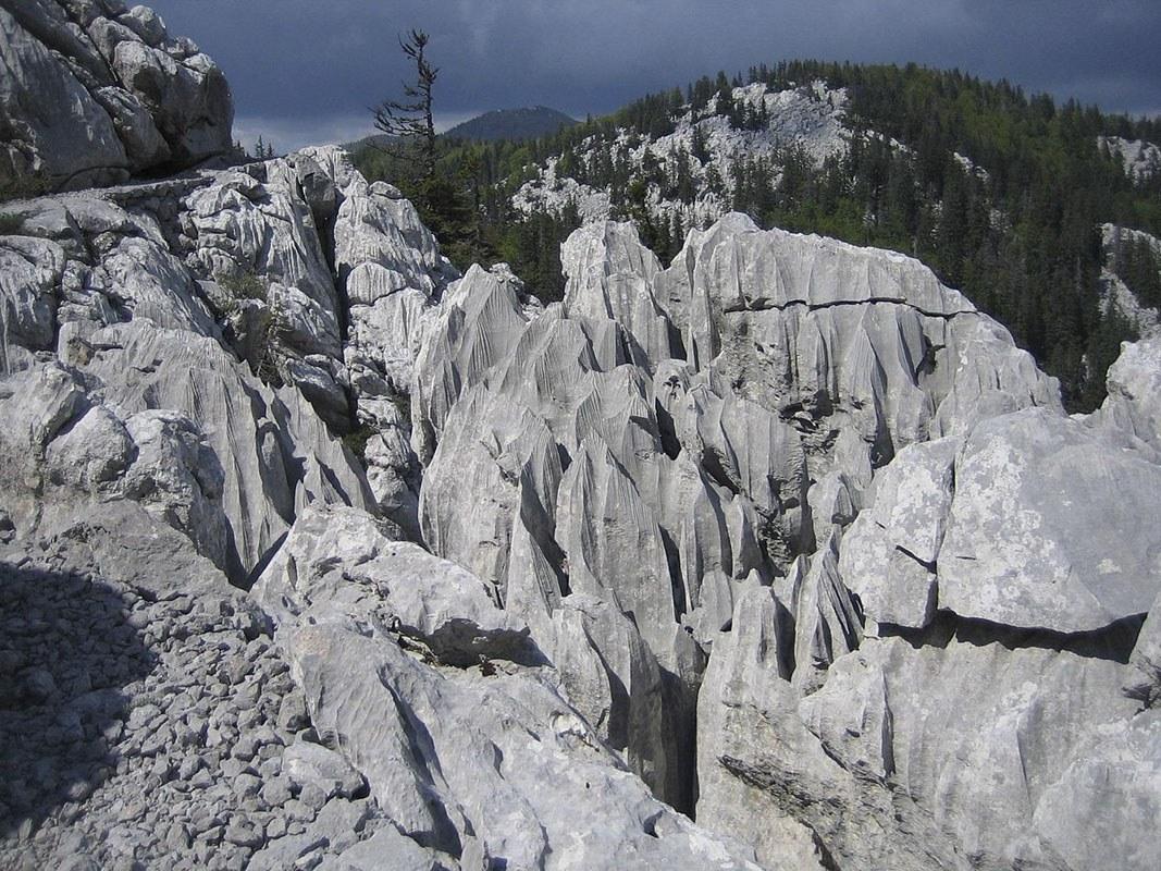 velebit national park karst