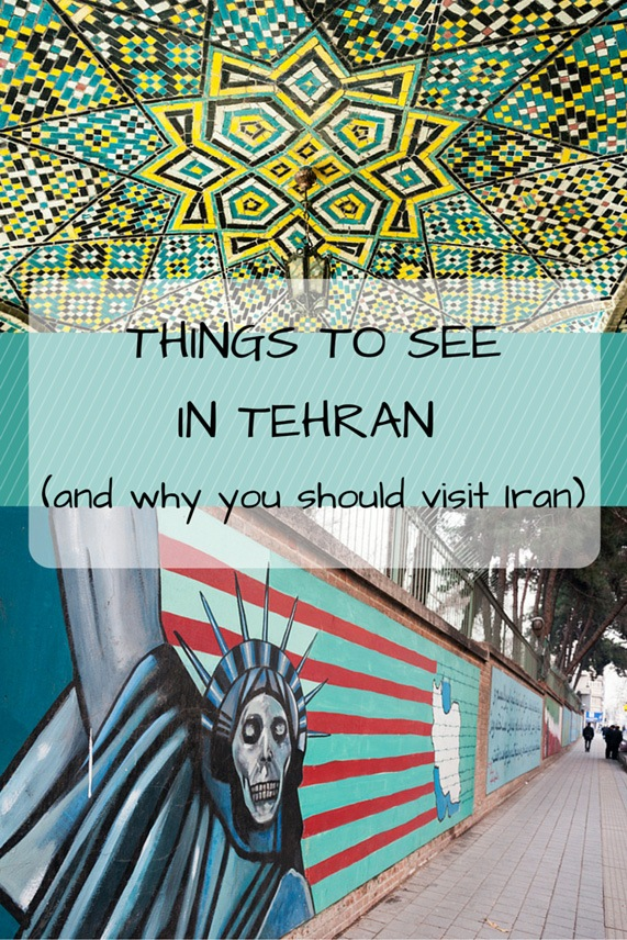 things to see in tehran pin