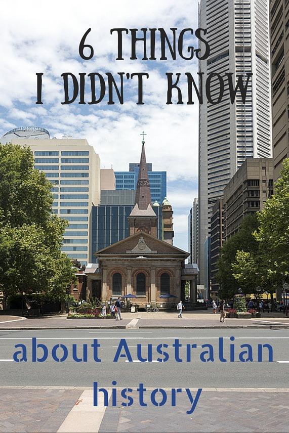 australian history pin