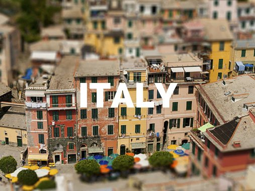 italy destinations