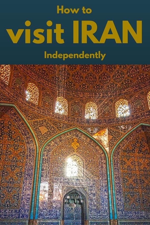 visit iran independently pin