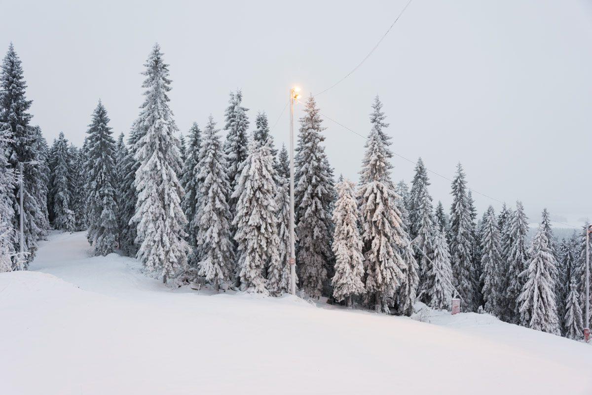 snowy slopes tahko Finland