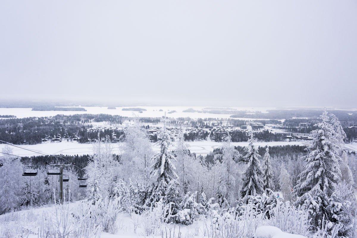 panorama ski finland tahko