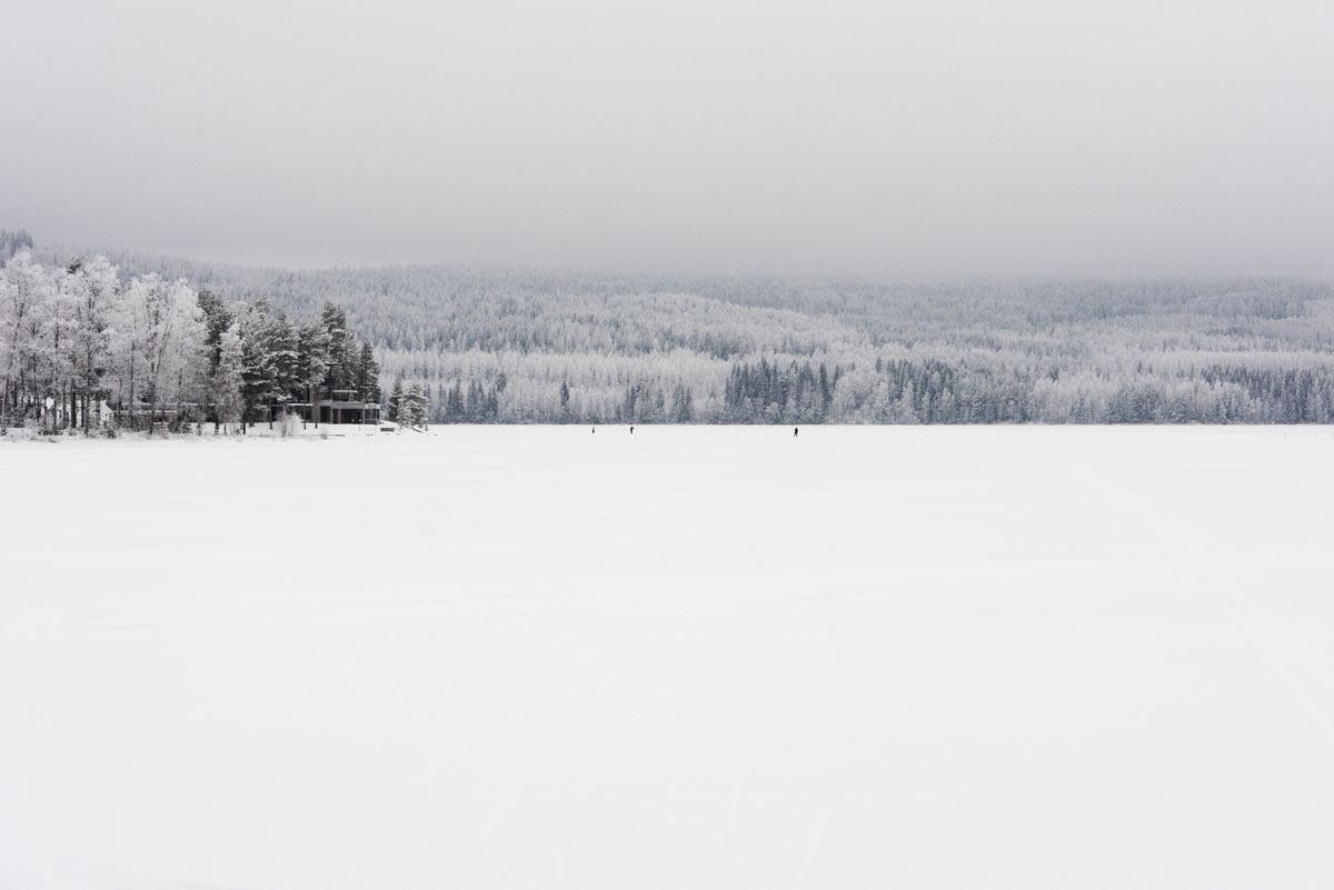 frozen lake finland
