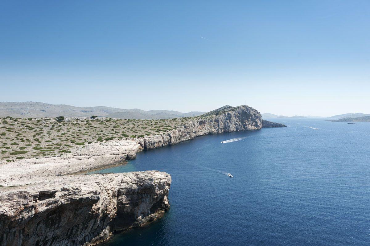 kornati islands croatia cliffs