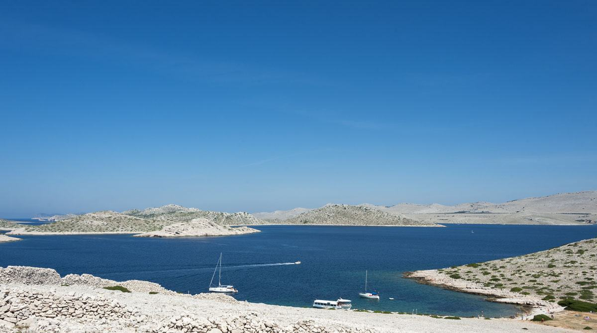 kornati islands croatia boats