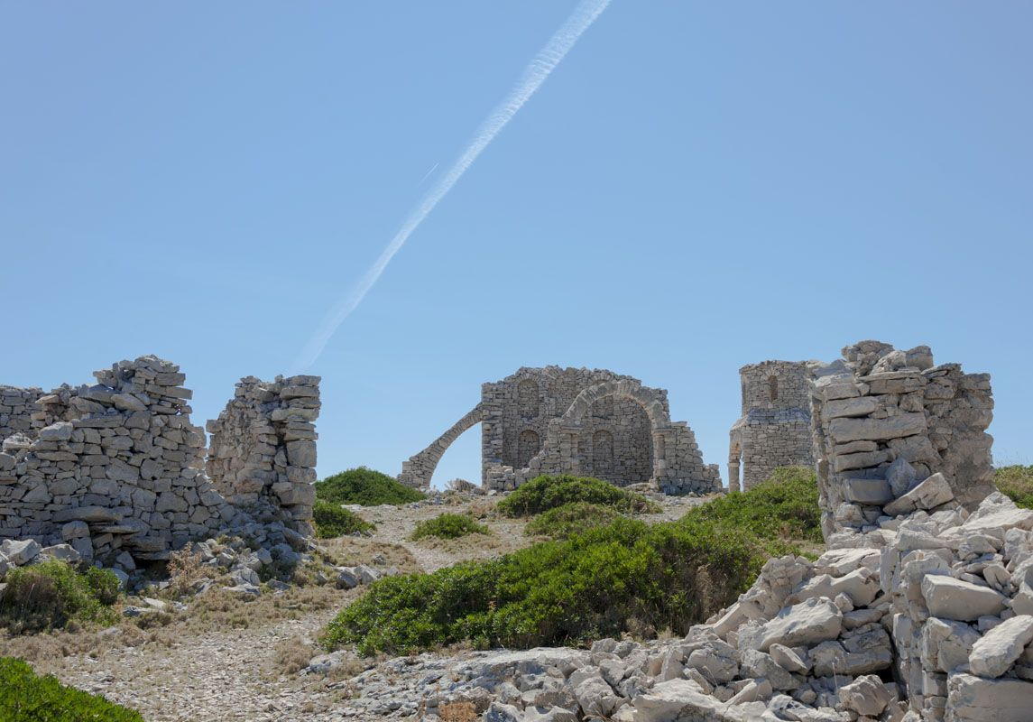 kornati islands croatia mana ruins