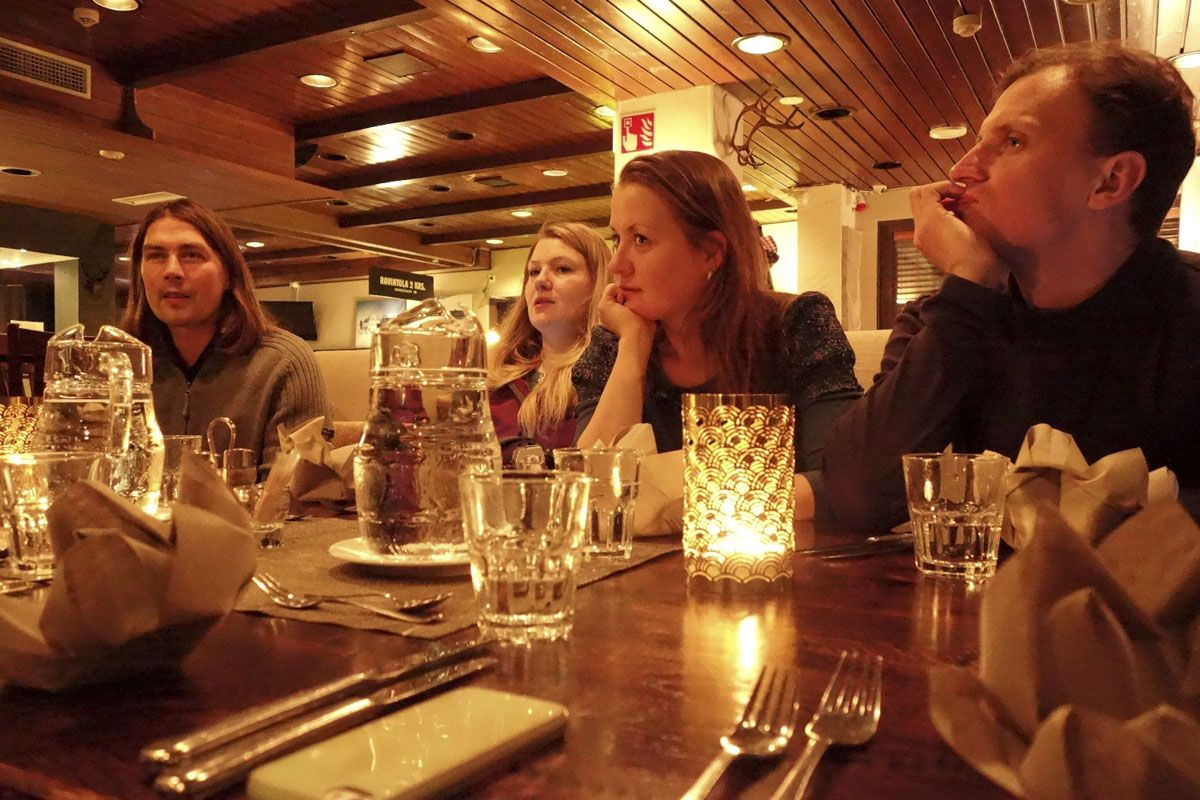 Dinner at Indie Hotel UKKO
