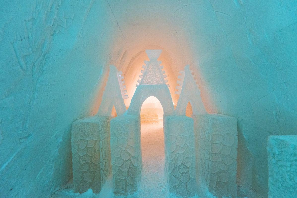 snow hotel kemi chapel