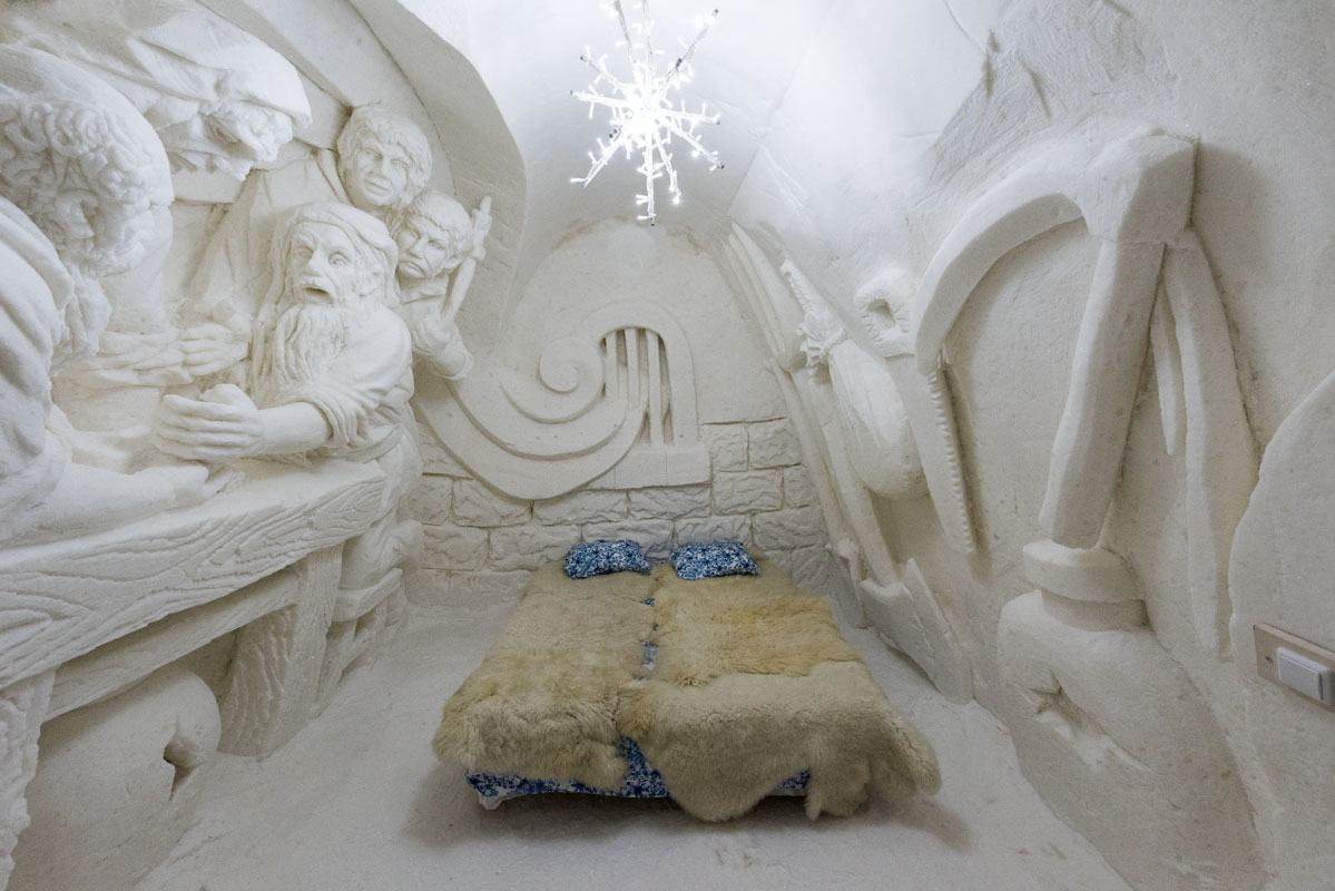 snow hotel kemi superior room