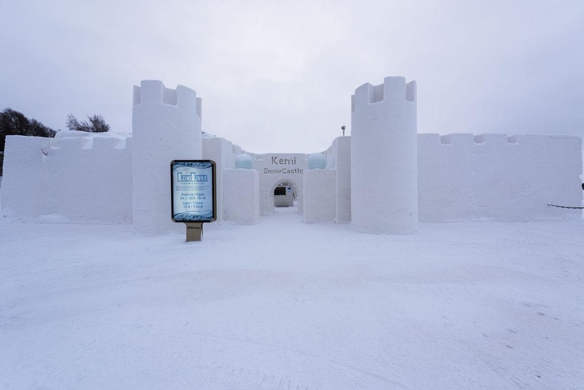 visit kemi snow castle