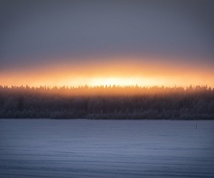 visit kemi finland winter sunset