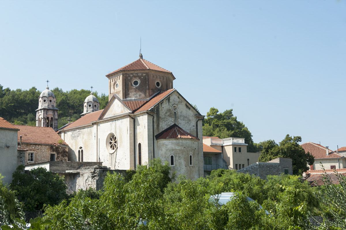 The church of Skradin croatia