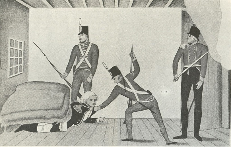 bligh arrest