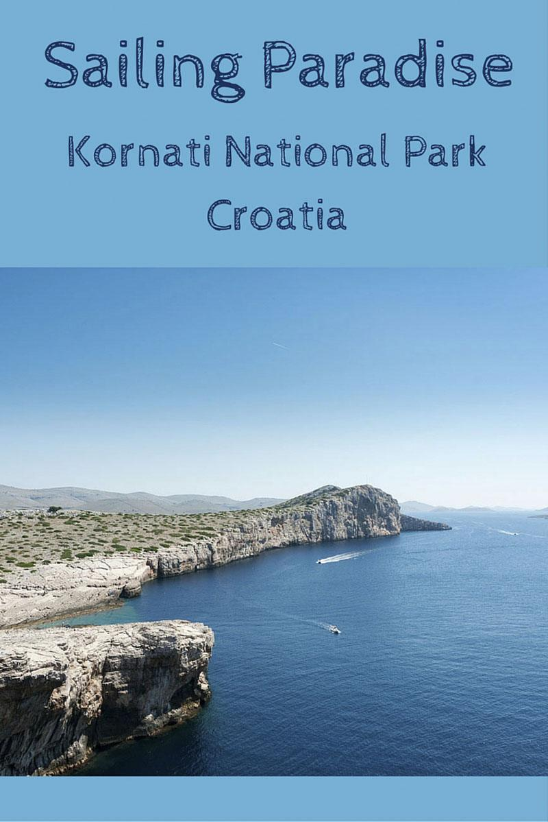 kornati croatia national park pin