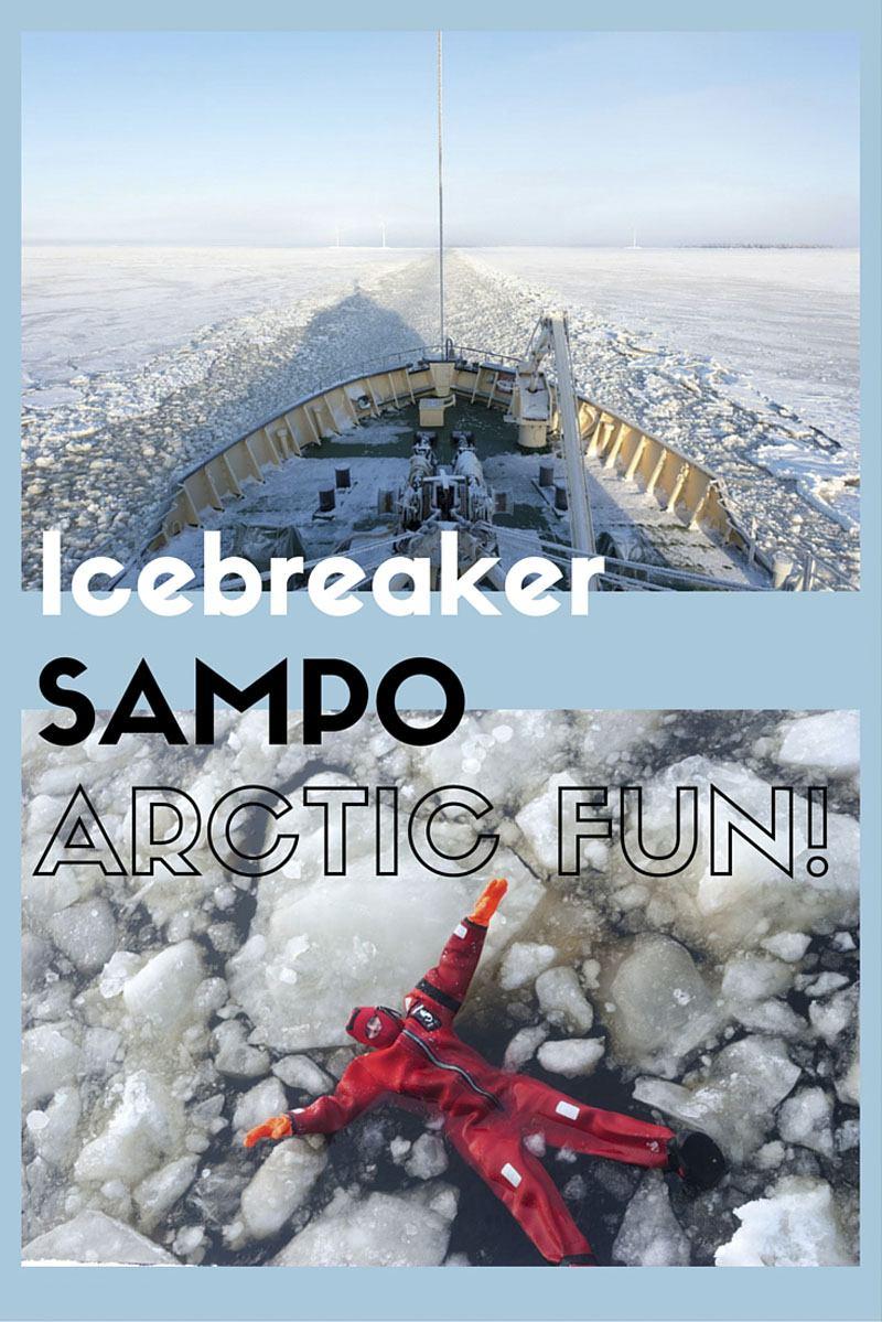 icebreaker sampo visit kemi pin