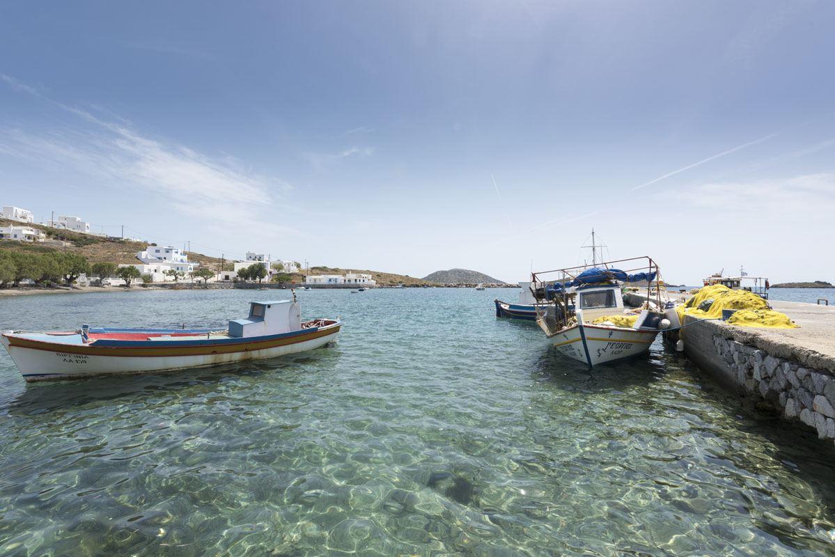 Astypalea maltezana fishing boats