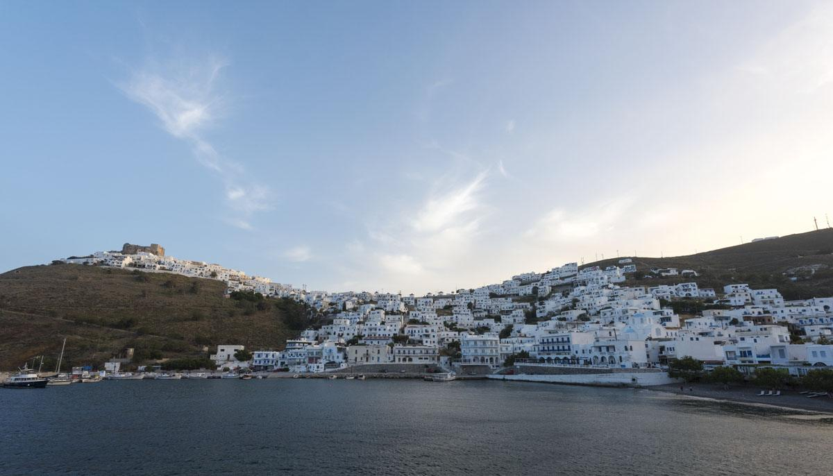 chora from vythos apartments astypalea