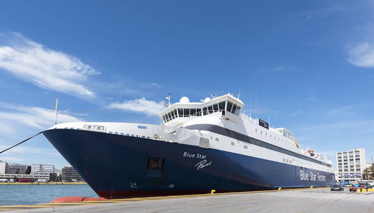 blue star ferry piraeus