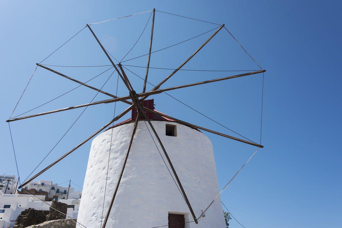 big windmill astypalea greek islands