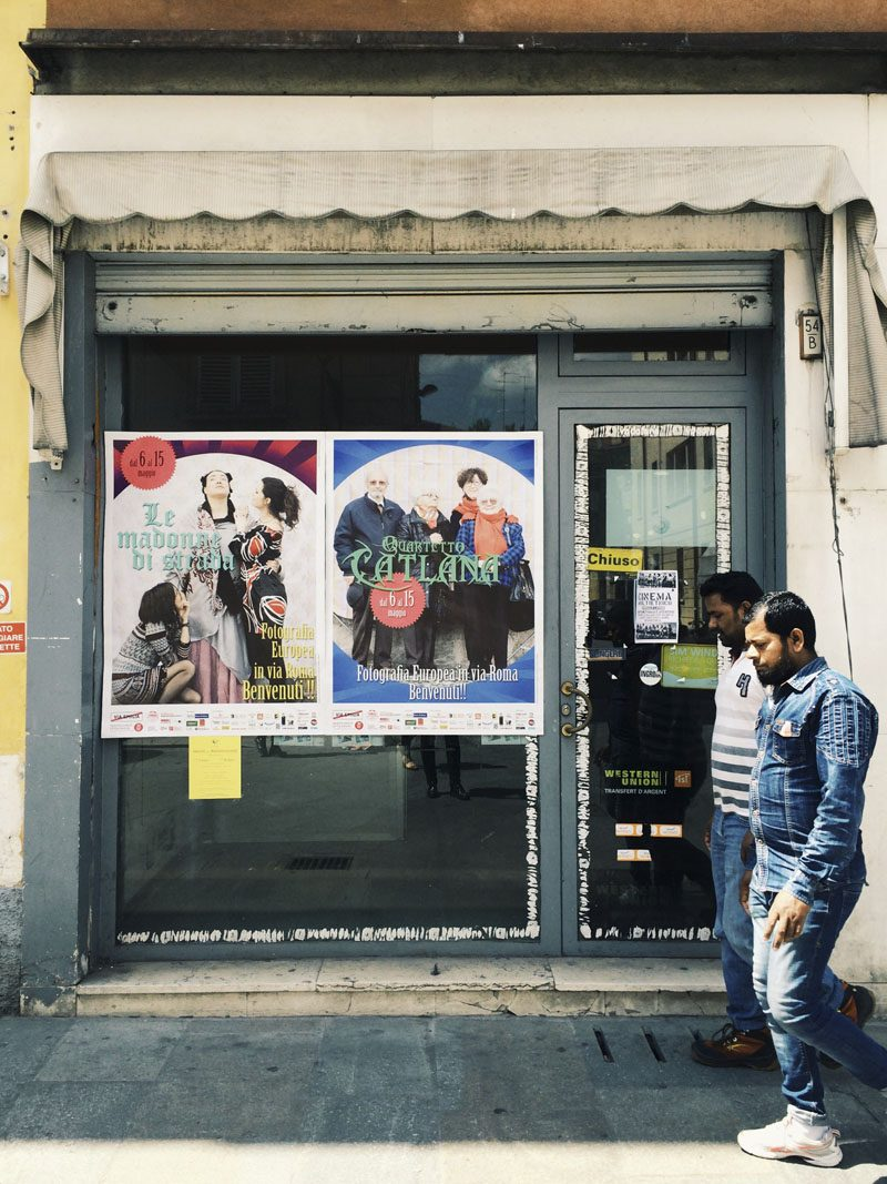 fotografia europea via roma