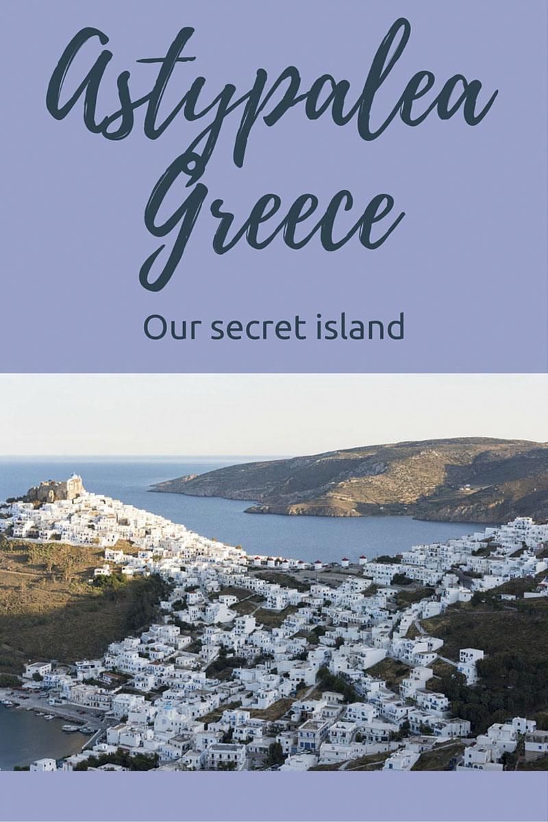 astypalea greek island pin