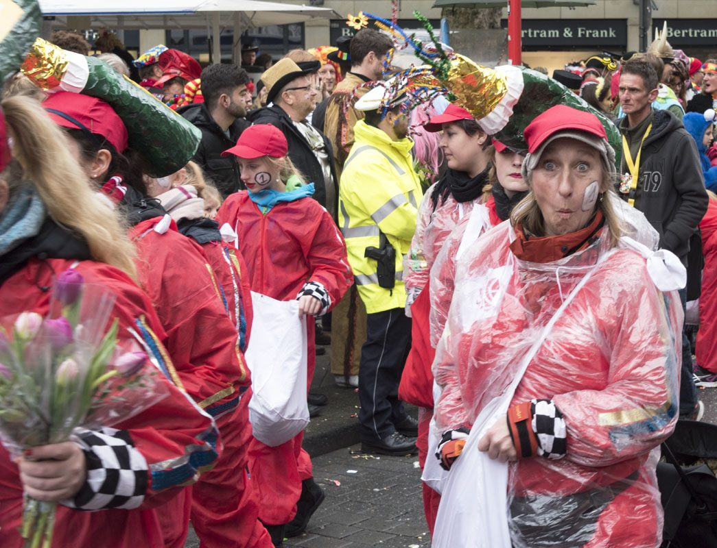 cologne carnaval funny face