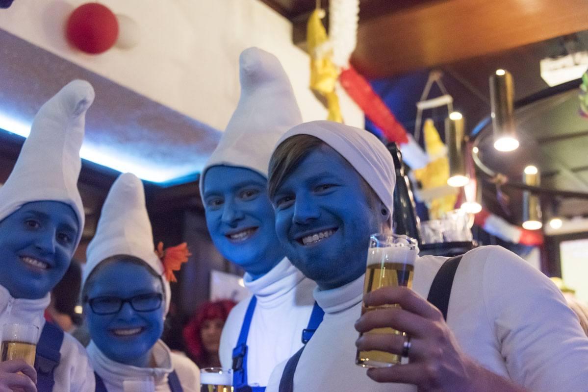 carnival cologne smurfs kolsch