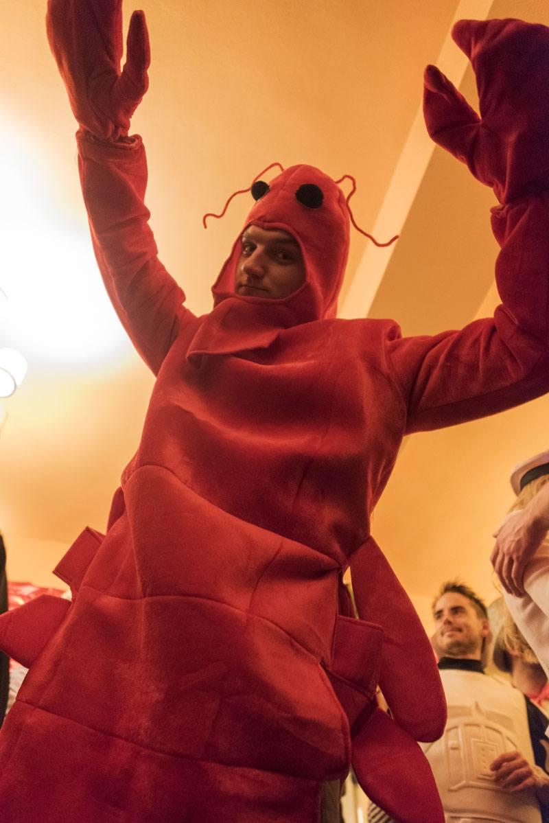 cologne Karnaval red lobster