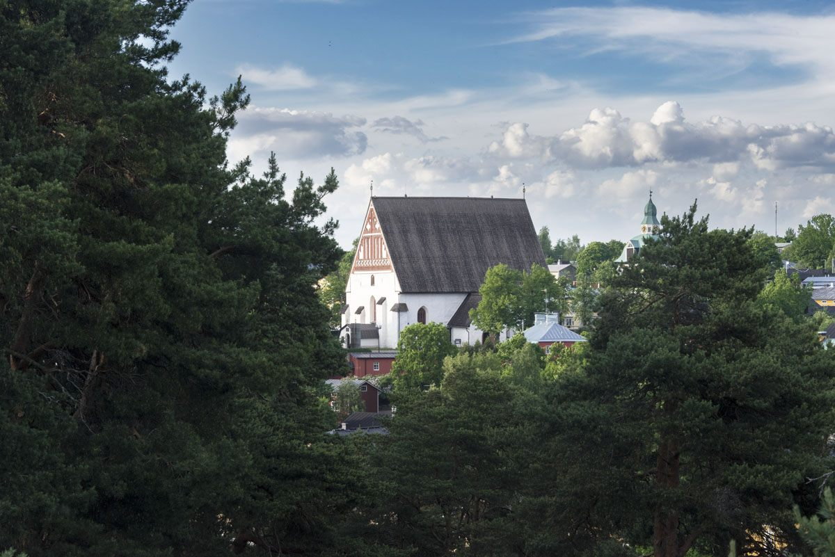 cathedral view porvoo