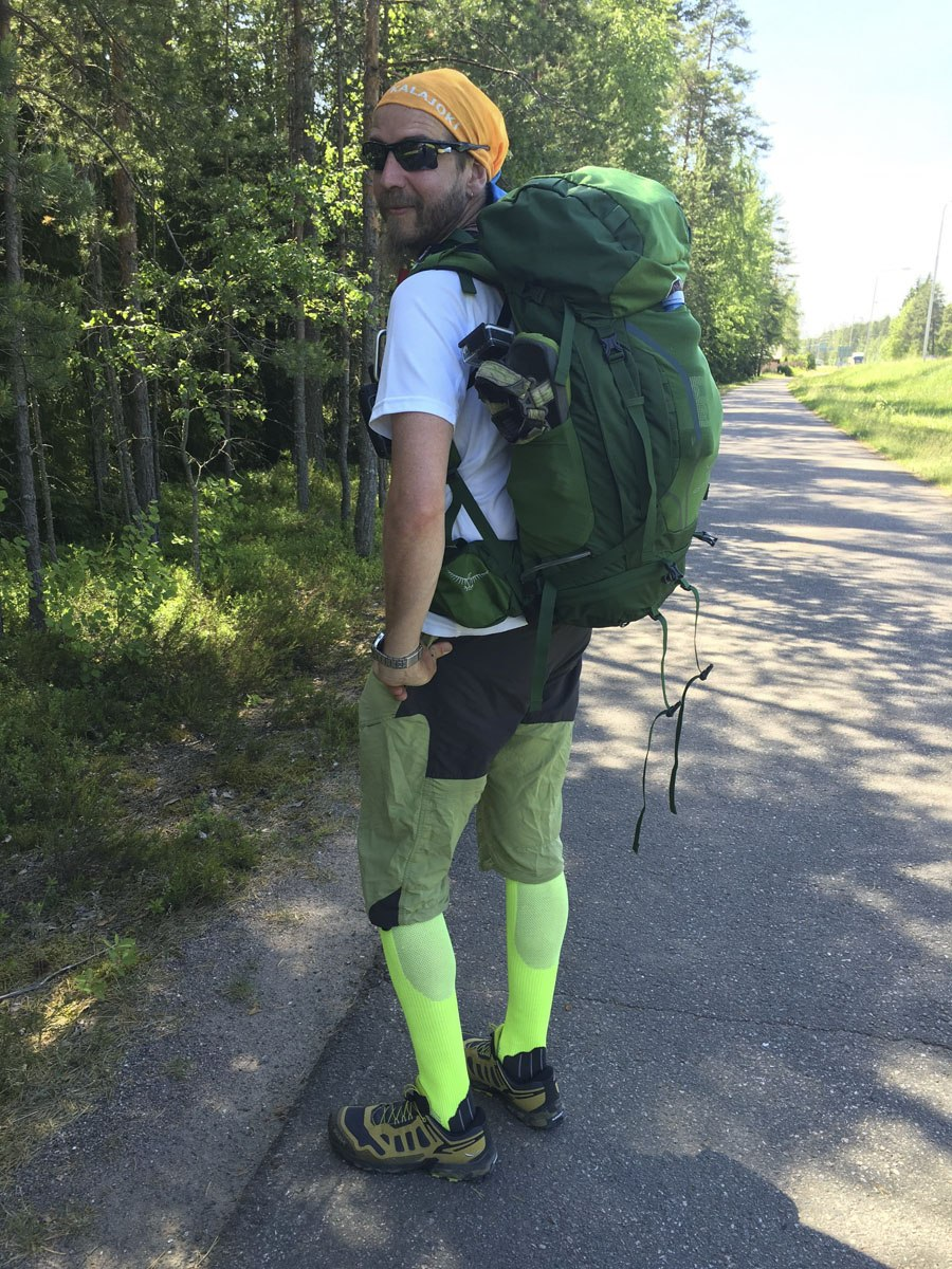 hiking gear nick