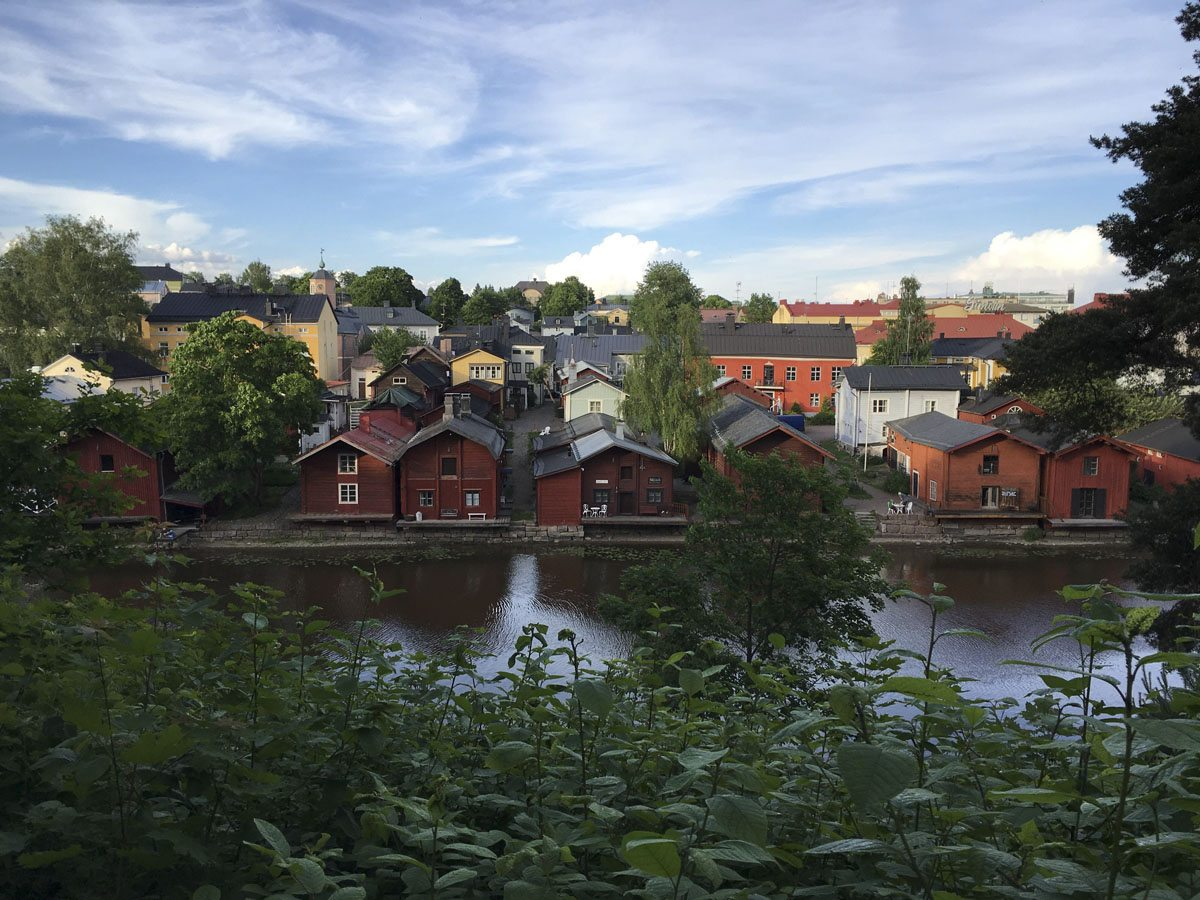 old city view porvoo