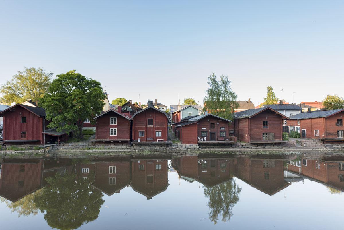 porvoo red shore houses
