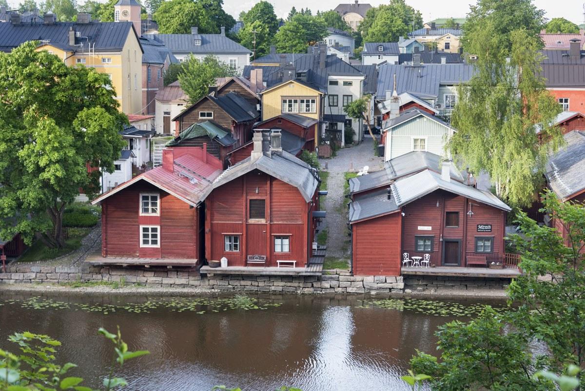shore house view porvoo