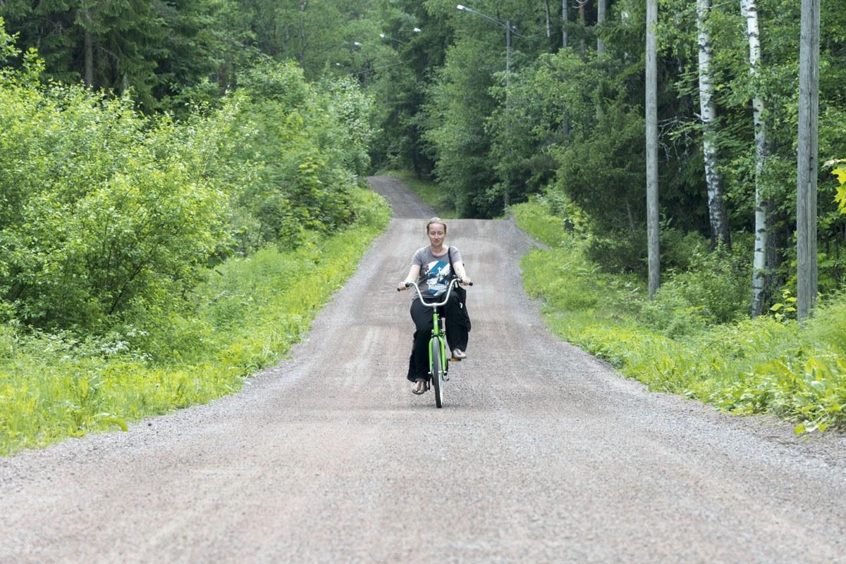 sikosaari pig island porvoo cycling
