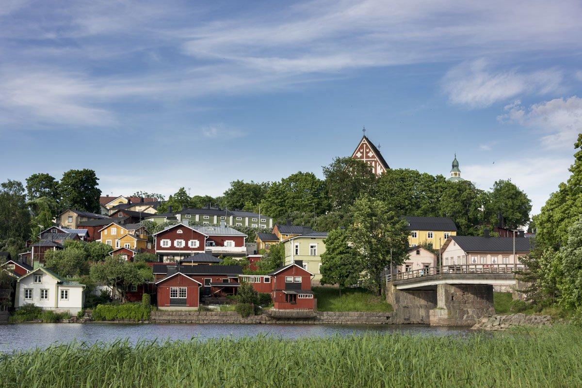 visit porvoo finland summer