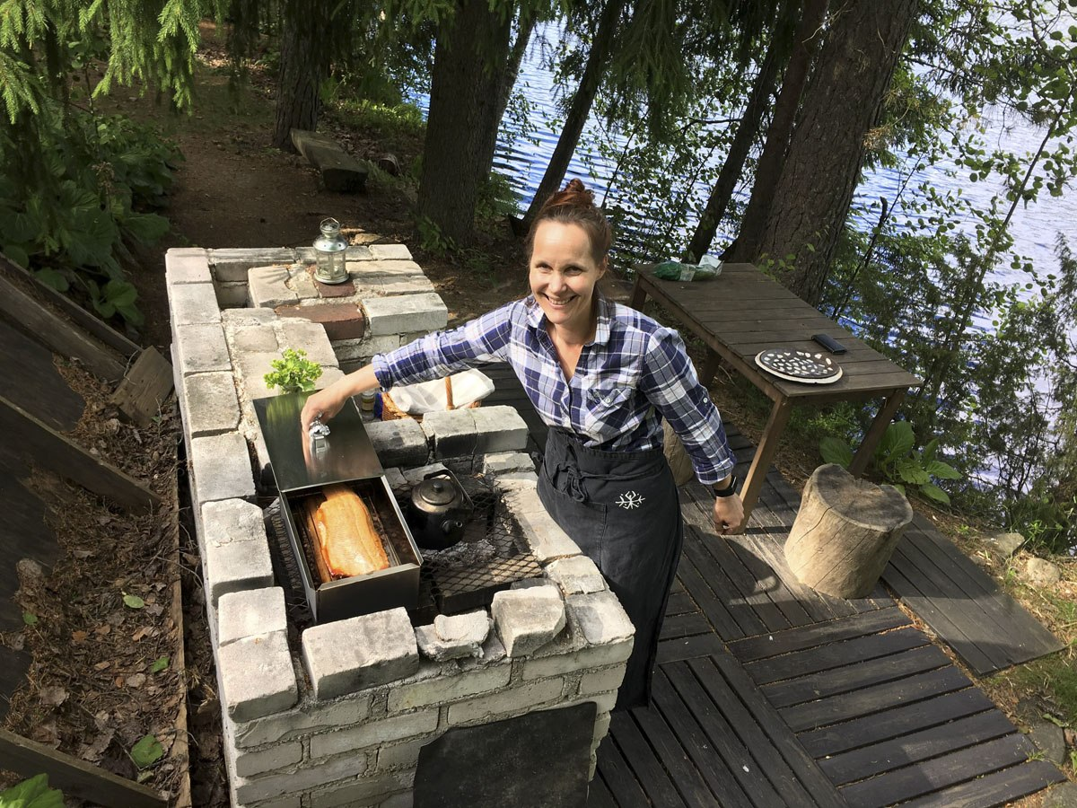 annu hawkhill nature cooking
