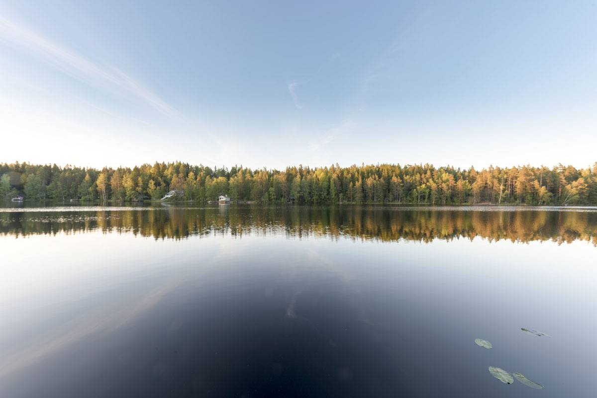hawkhill nature kaitlampi lake
