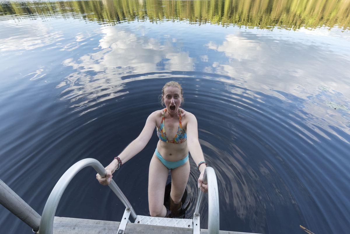 hawkhill nature swimming