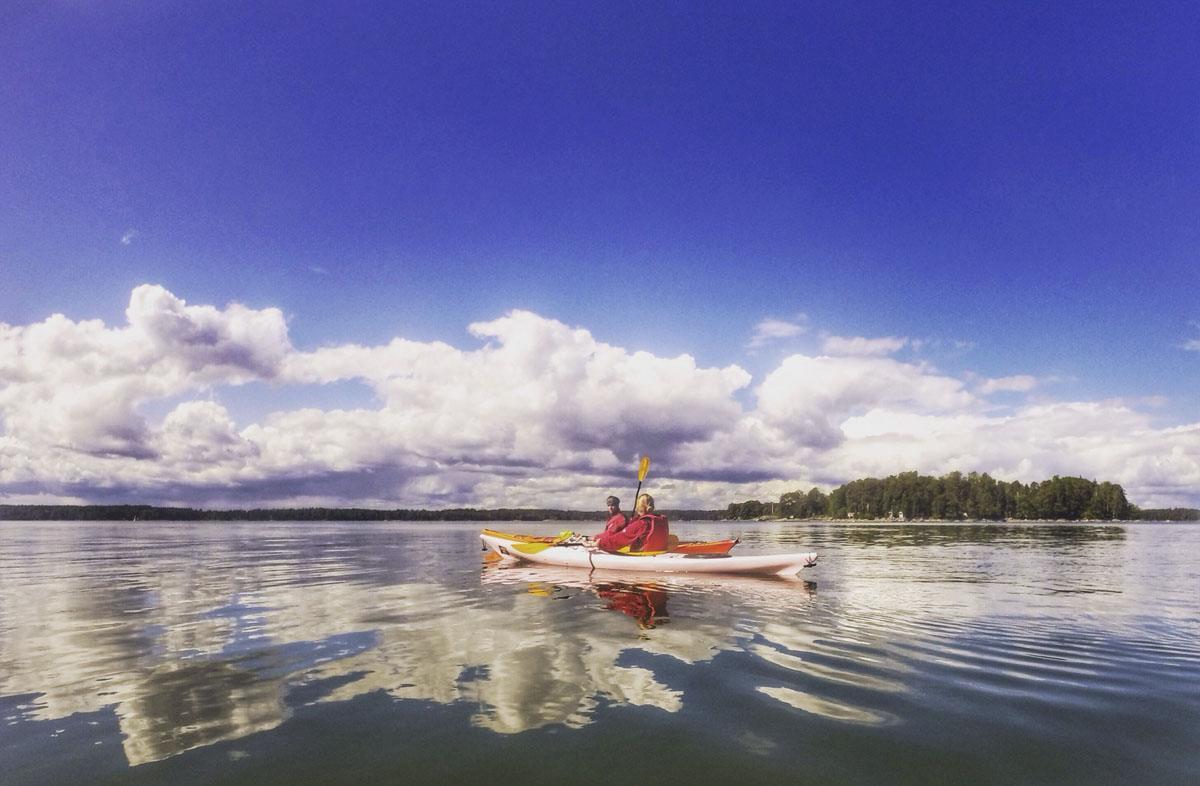 kayaking eastern helsinki archipelago