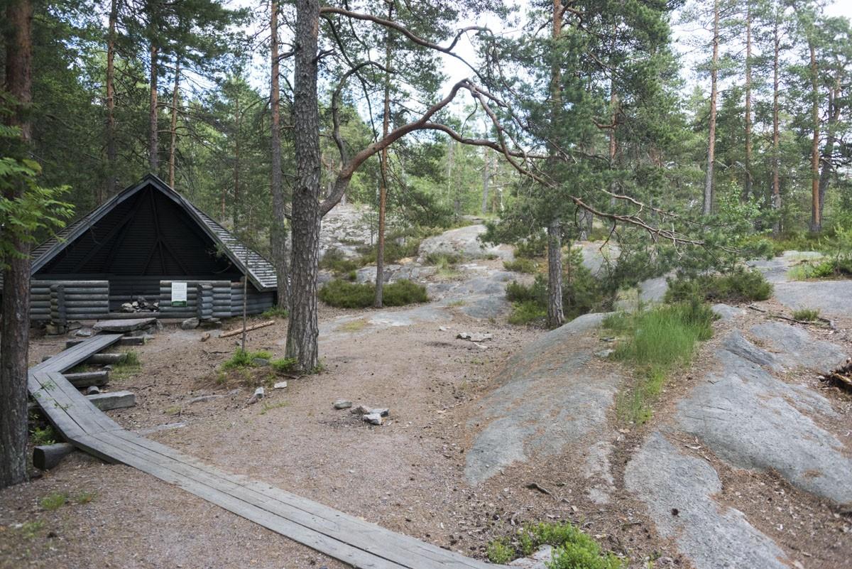 nuuksio campsite