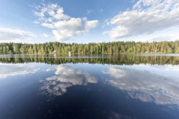 nuuksio national park lake