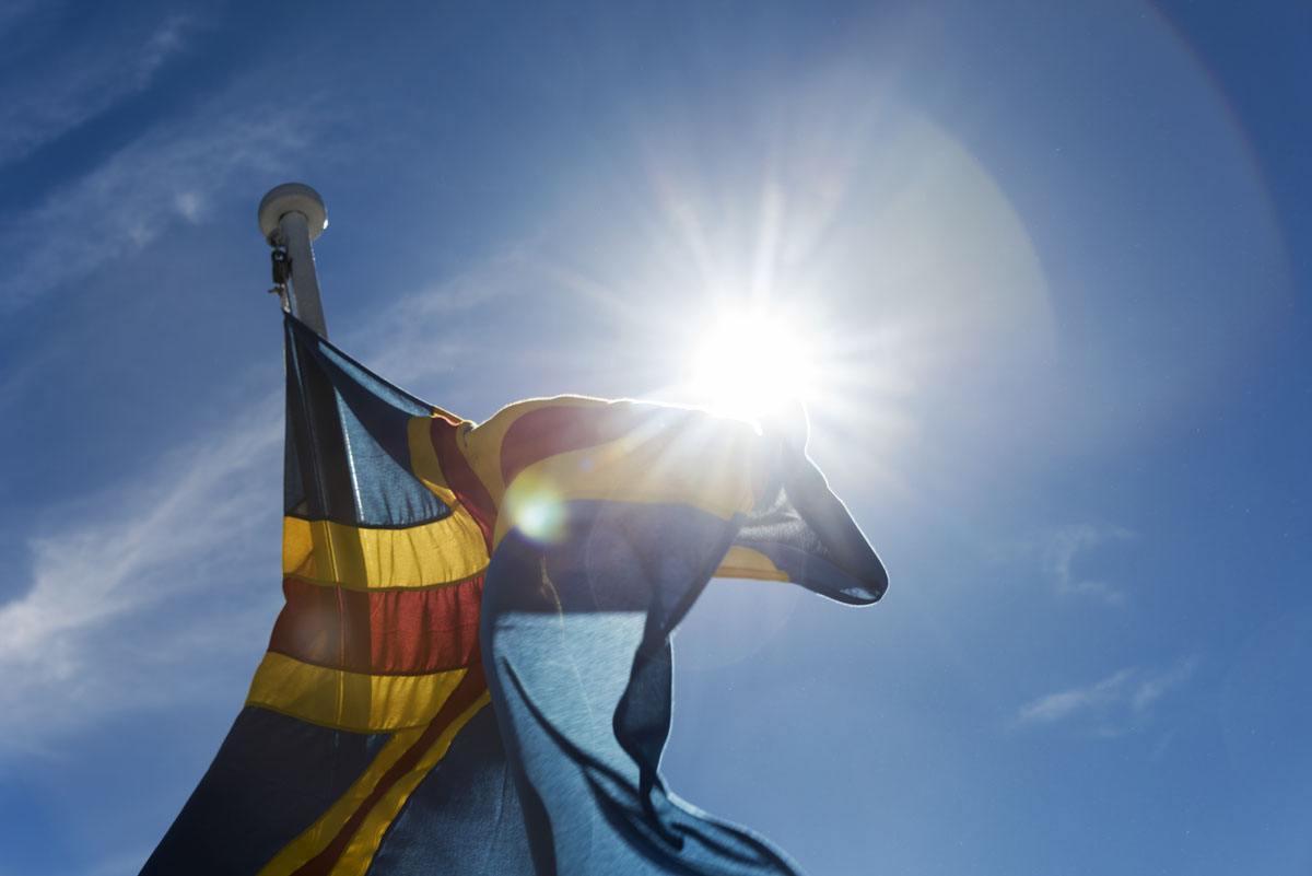 hiking-aland-islands-flag