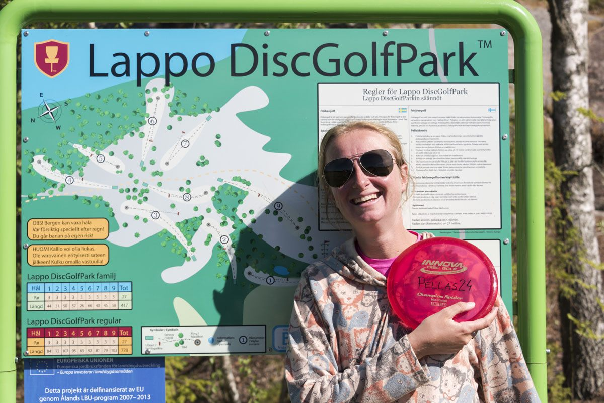 lappo-aland-frisbee-golf-sign