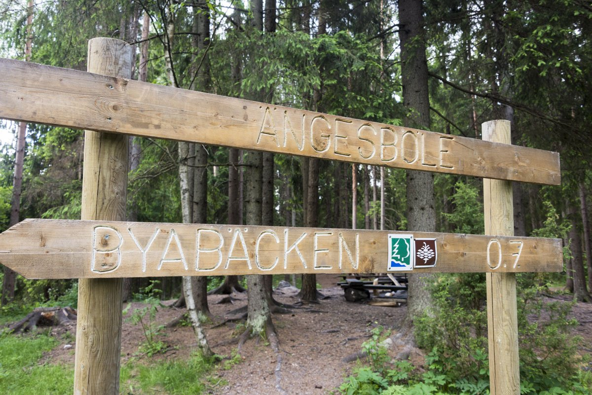 sipoonkorpi national park angesbole