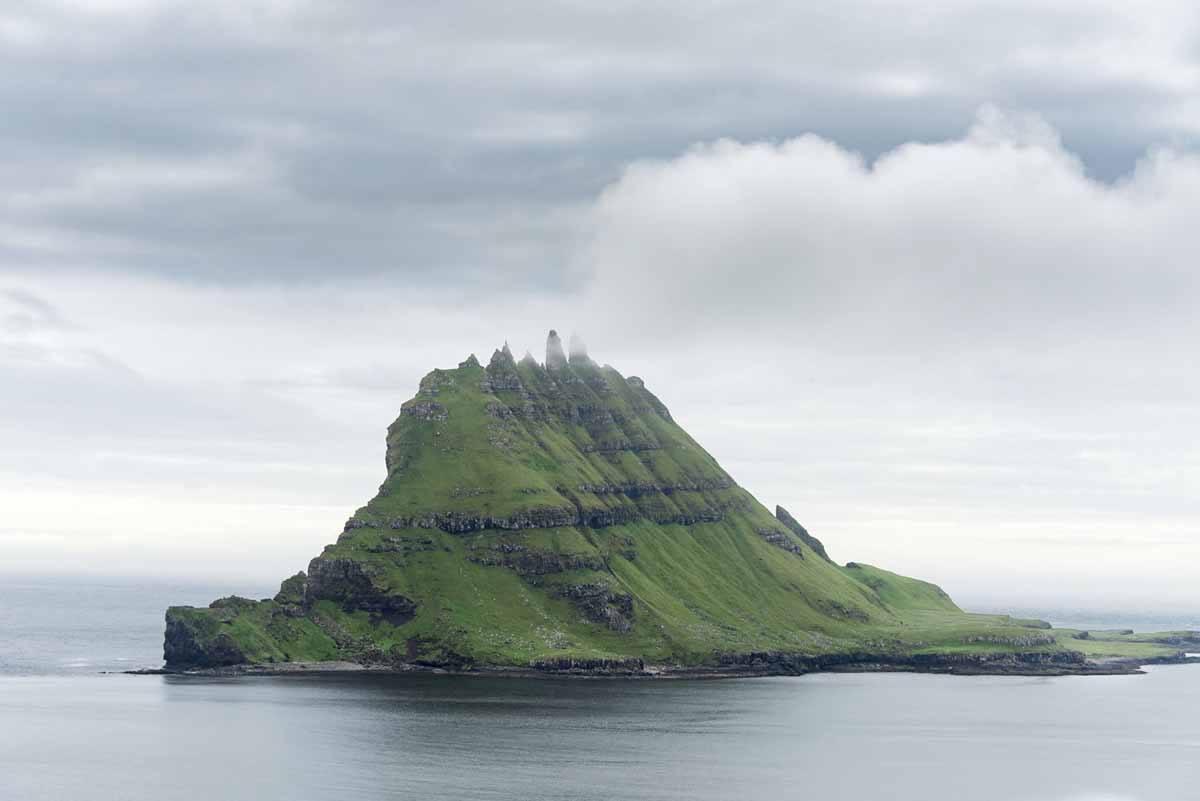 faroe islands weird rocks