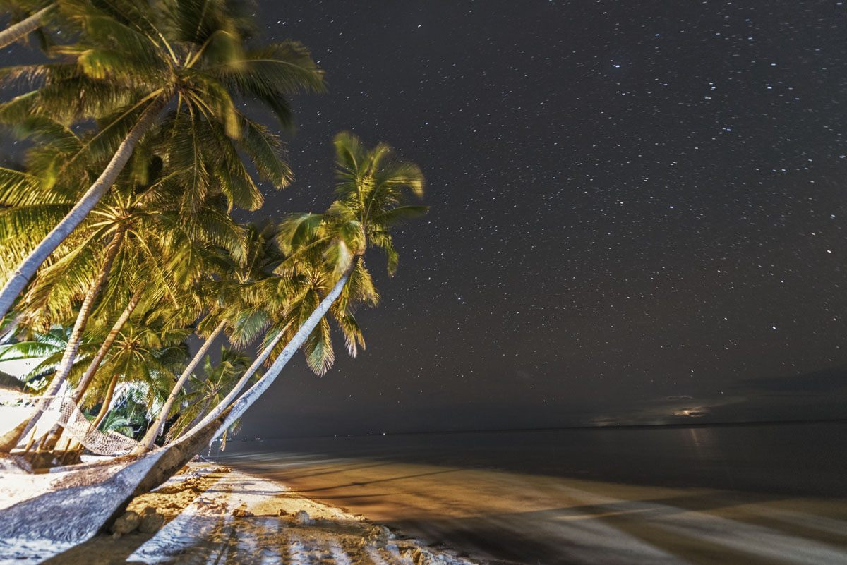 Philippines-Siquijor-beach-night