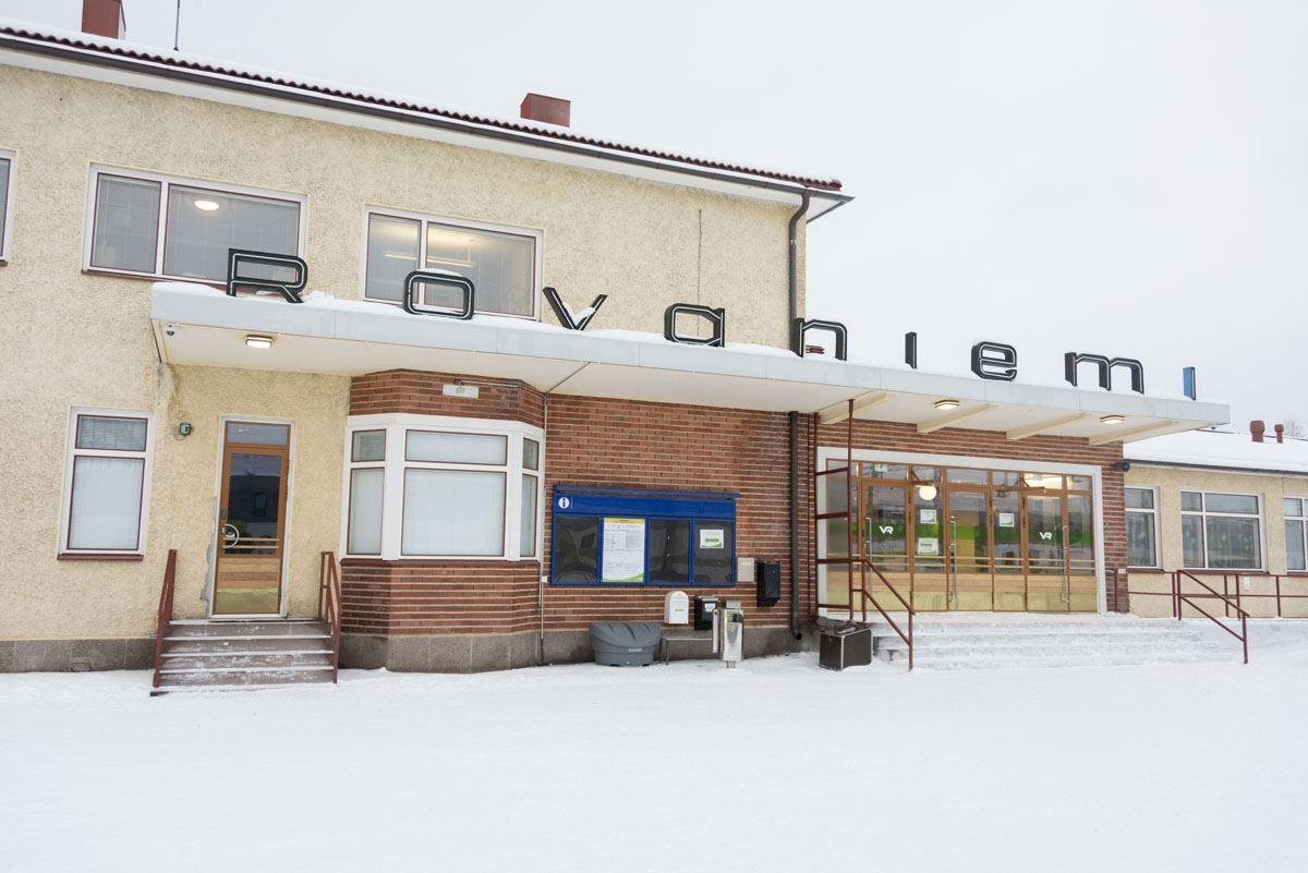 finland rovaniemi station